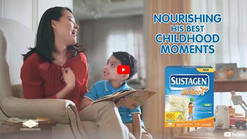 Sustagen, Nourish his Best Childhood Moments
