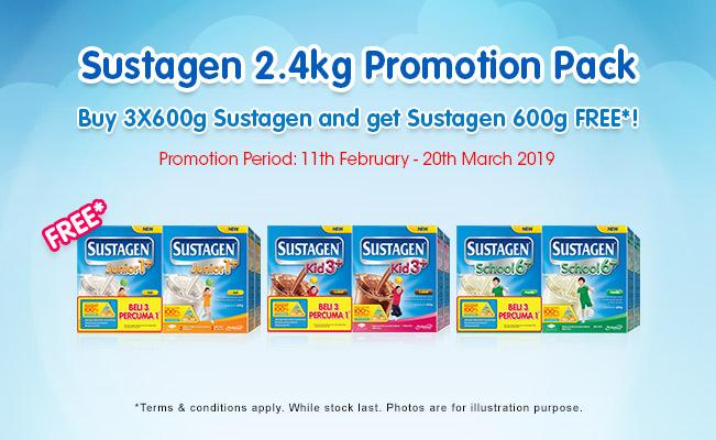Sustagen 2.4kg Promotion Pack