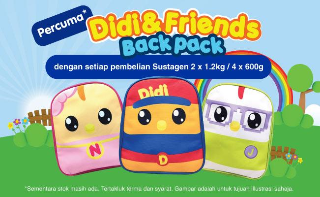 Percuma Didi & Friends Backpack