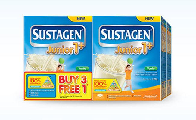 Sustagen Buy 3 Free 1 Promotion