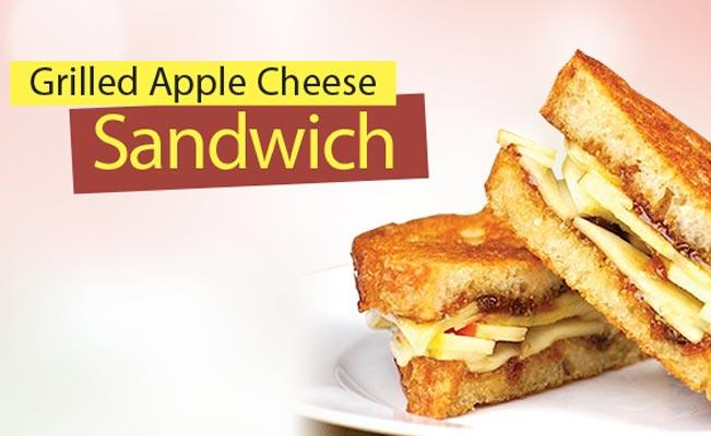 Grilled Apple Cheese Sandwich